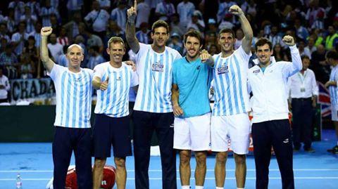 ARGENTINA A LA FINAL DE COPA DAVIS