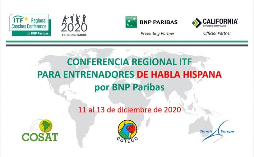 CONFERENCIA REGIONAL DE ENTRENADORES 2020