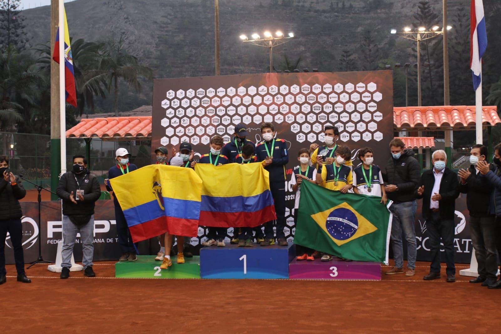 Colombia y Brasil, campeones del Sudamericano de 12 años