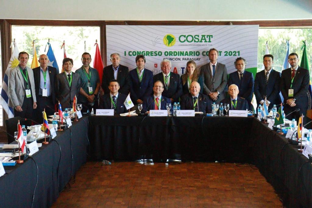 Elegida nueva directiva en Congreso COSAT