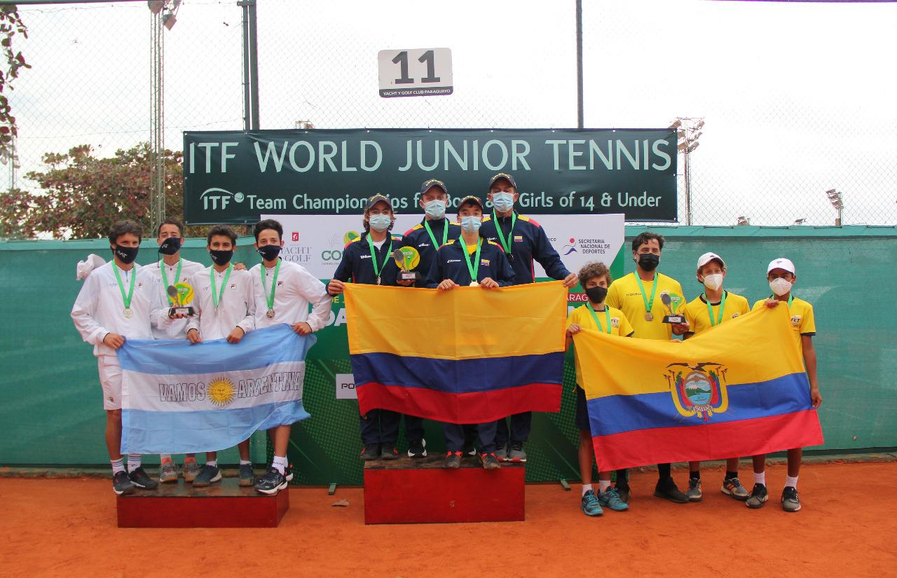 Colombia, bicampeón en el Sudamericano de 14 años