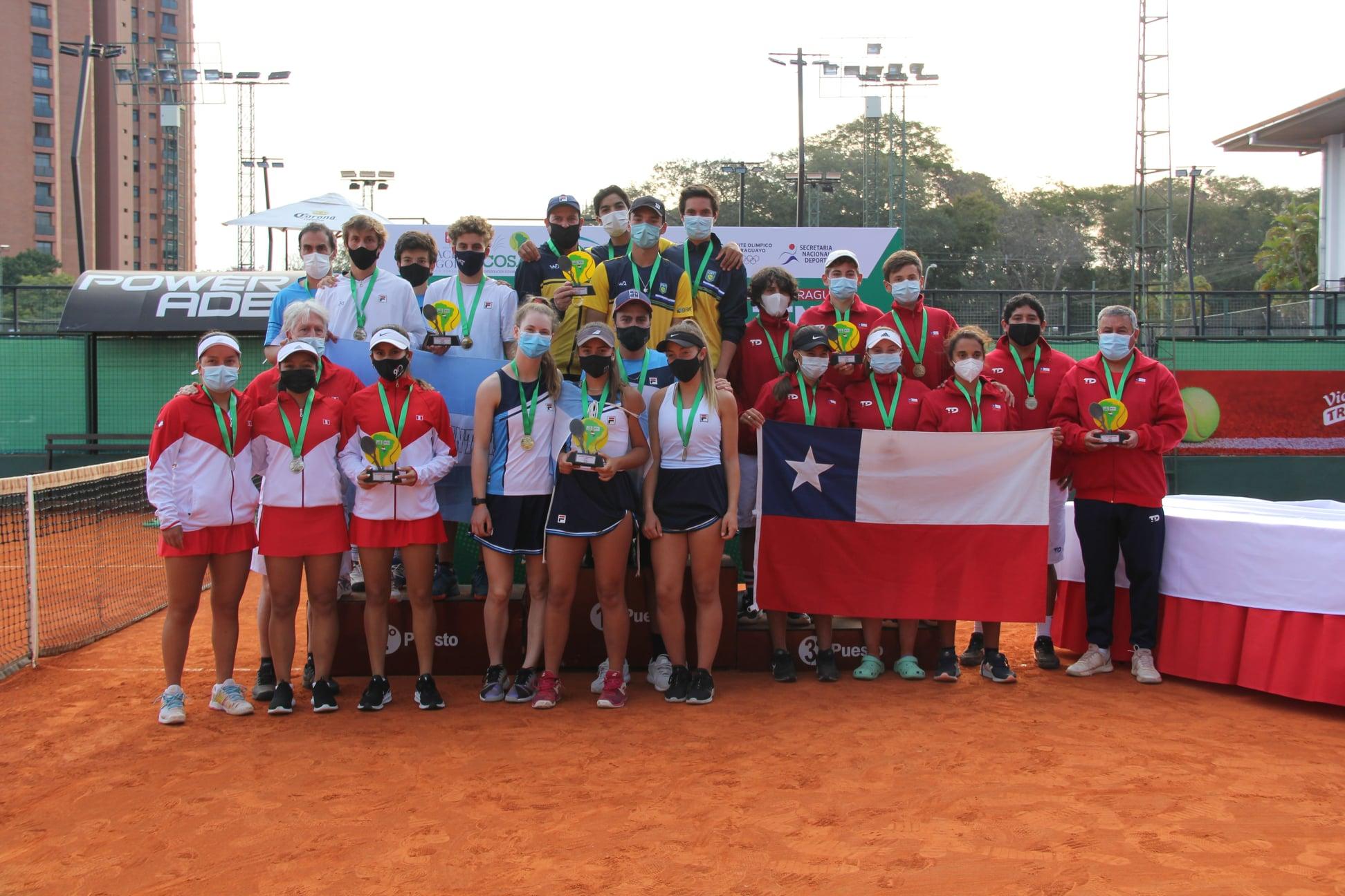Argentina y Brasil, campeones sudamericanos de 16 años